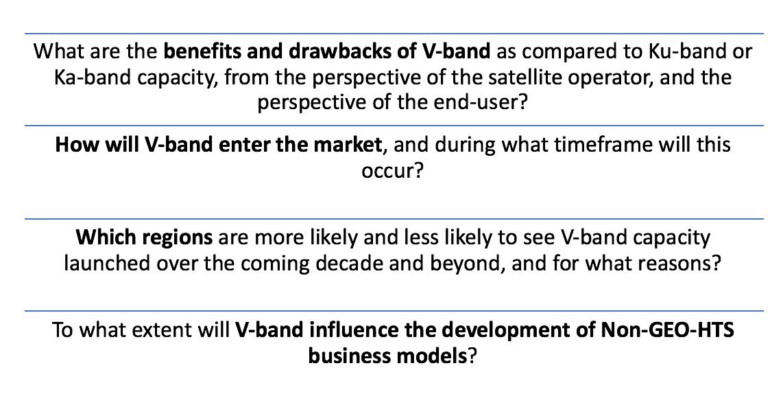 V-Band Satellite Markets - NSR