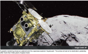Gulf image associated with reusable rockets/ miniature satellites article