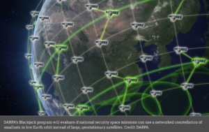 Telesat wins study contract for DARPA's experimental constellation