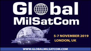 The Future of US SATCOM to be Discussed at Global MilSatCom 2019