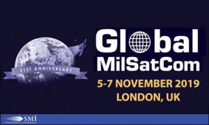 21st Annual Global MilSatCom conference and exhibition will return to London in November as the biggest edition to date