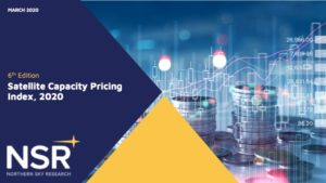 satellite capacity pricing nsr visual with graphics and title