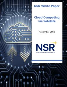 Visual of Cloud Computing via Satellite for link