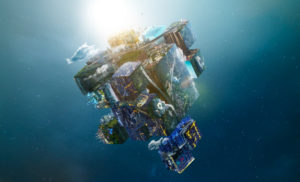 Cubes in space linked to HAPs article