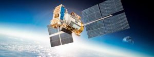 graphic of satellite for global communication