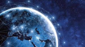 SatMagazine article quoting Cloud computing via satellite