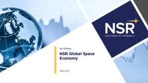 Global Space Economy report forecasting for space and satellite markets