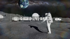East vs. West: Building the First Lunar Base