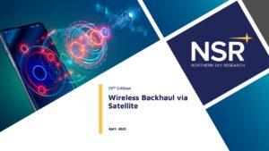 Wireless Backhaul via Satellite