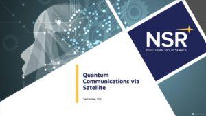 Quantum Communications via Satellite